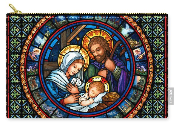 Holy Family Christmas Story Carry-all Pouch