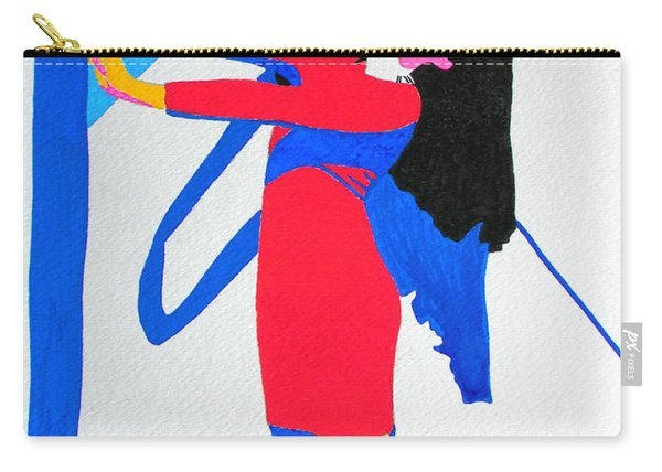 Homage To Carven Carry-all Pouch