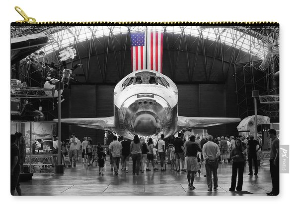 Carry-all Pouch featuring the photograph Home At Last by Jim Thompson