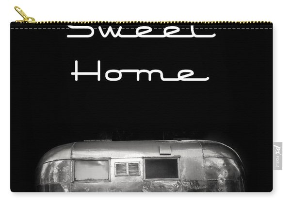 Home Sweet Home Vintage Airstream Carry-all Pouch