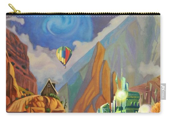 Honeymoon In Oz Carry-all Pouch