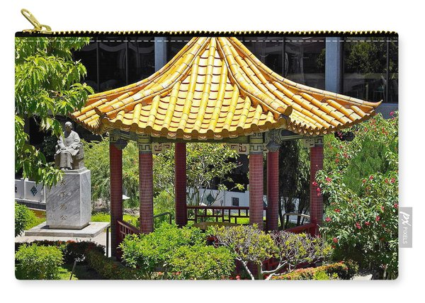 Honolulu Airport Chinese Cultural Garden Carry-all Pouch