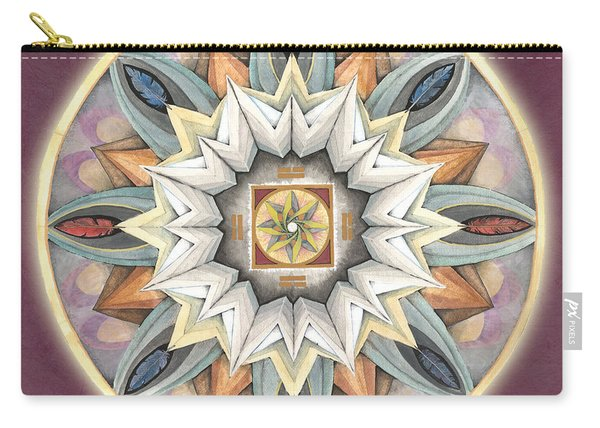 Honor Mandala Carry-all Pouch
