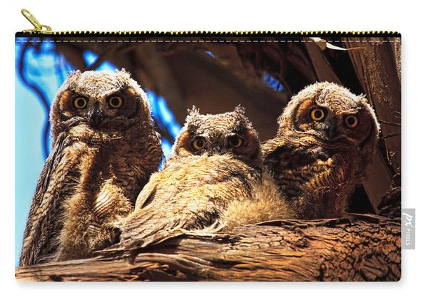 Hoo Are You Carry-all Pouch