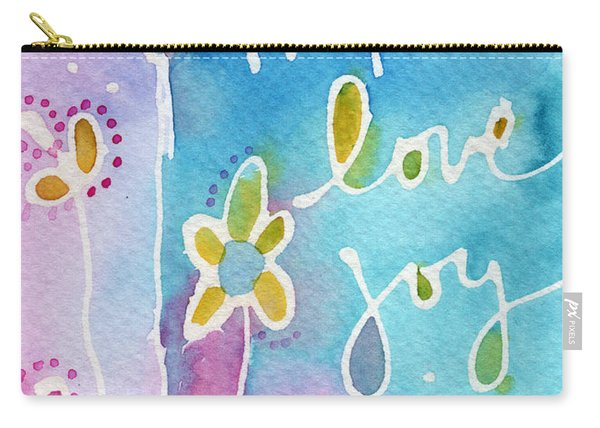 Hope Love Joy Carry-all Pouch