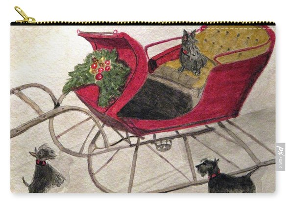 Hoping For A Sleigh Ride Carry-all Pouch