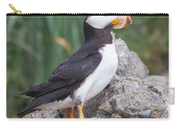 Horned Puffin Carry-all Pouch