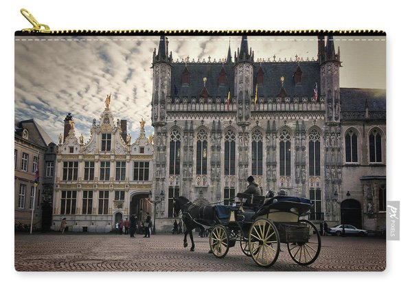 Horse And Carriage Carry-all Pouch