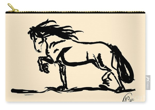 Horse - Blacky Carry-all Pouch