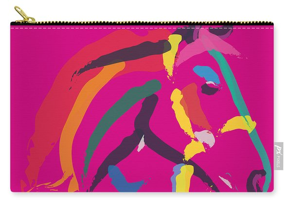 Horse - Colour Me Strong Carry-all Pouch