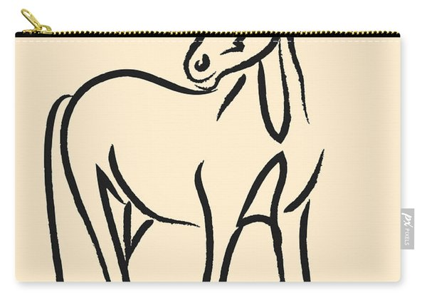 Horse - Grace Carry-all Pouch