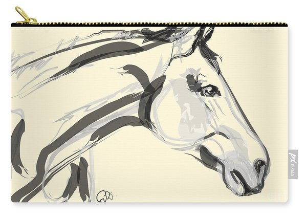 Horse - Lovely Carry-all Pouch