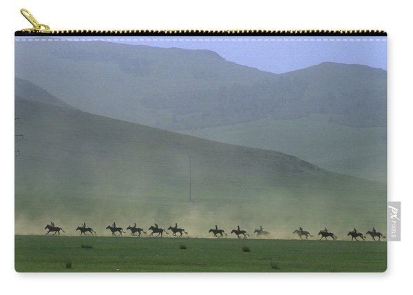 Horse Race, Nadaam Festival Carry-all Pouch
