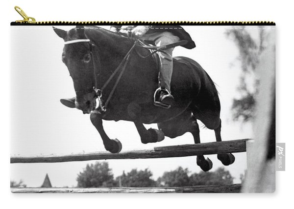 Horse Show Jump Carry-all Pouch
