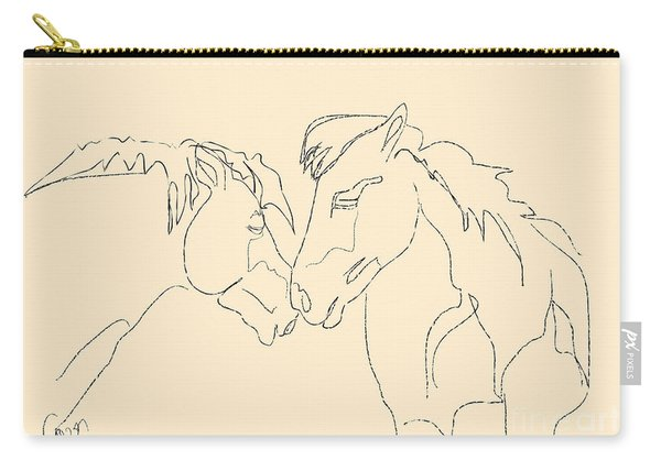 Horse - Together 3 Carry-all Pouch
