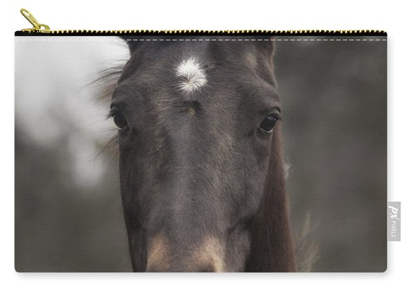 Horse With Gentle Eyes Carry-all Pouch