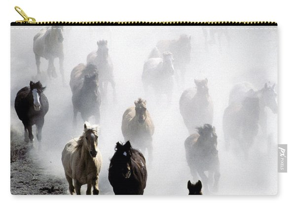 Horses Galloping Carry-all Pouch