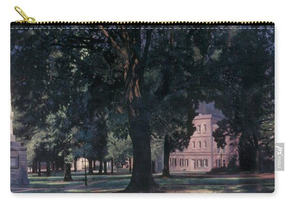 Horseshoe At University Of South Carolina Mural 1984 Carry-all Pouch