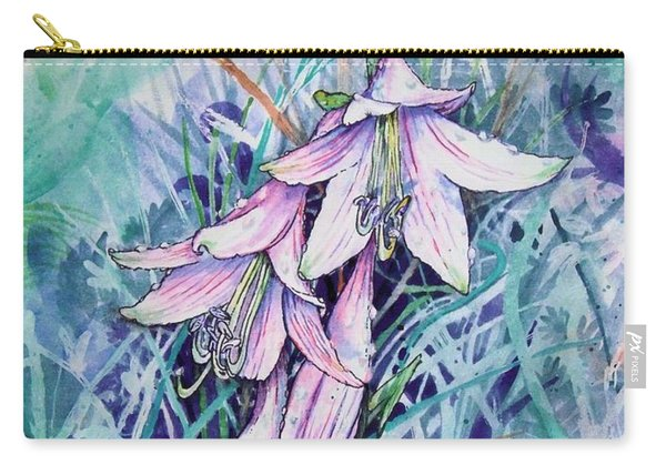 Hosta's In Bloom Carry-all Pouch