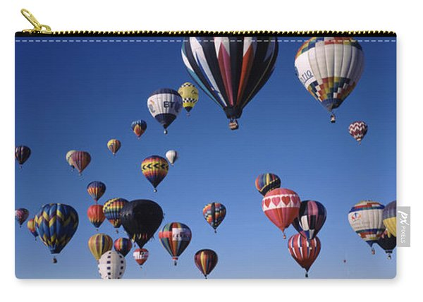 Hot Air Balloons Floating In Sky Carry-all Pouch