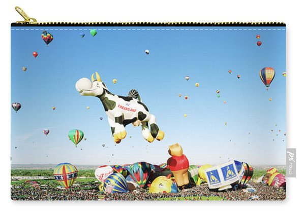 Hot Air Balloons In The Sky Carry-all Pouch