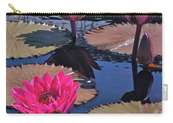 Hot Pink Tropicals Carry-all Pouch