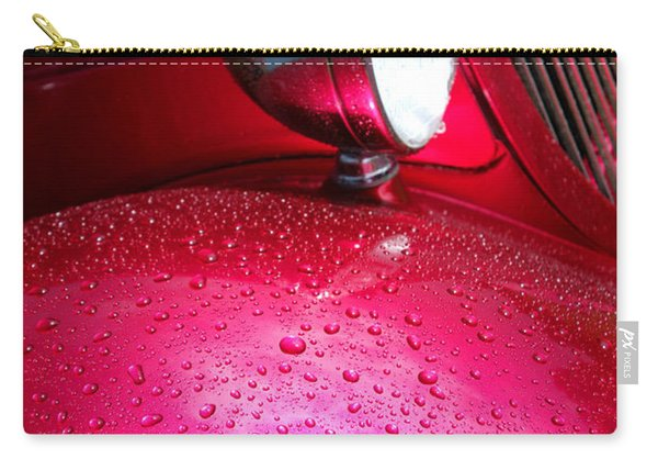 Hot Pink Wet Rod Carry-all Pouch
