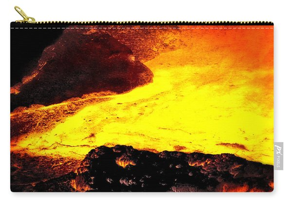 Hot Rock And Lava Carry-all Pouch