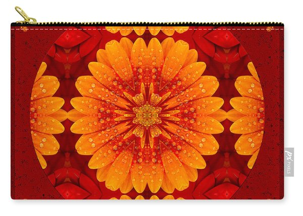 Hot Tropical Zen Carry-all Pouch