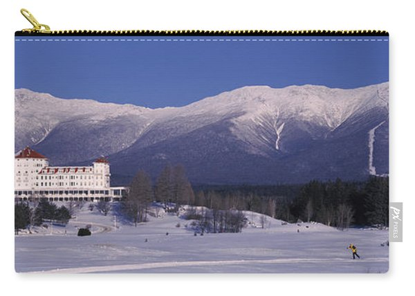 Hotel Near Snow Covered Mountains, Mt Carry-all Pouch