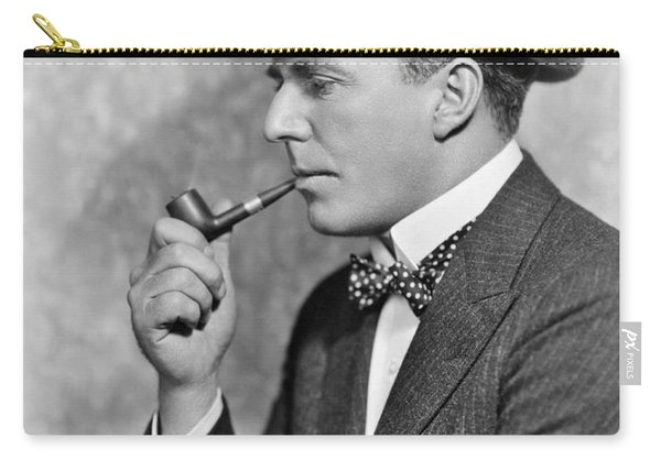 House Peters Smoking A Pipe Carry-all Pouch