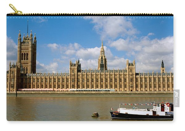 Houses Of Parliament, Water And Boat Carry-all Pouch