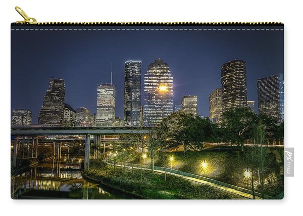 Houston On The Bayou Carry-all Pouch