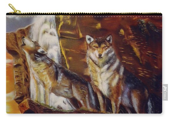 Howling For The Nightlife  Carry-all Pouch