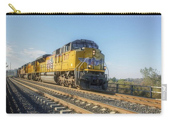 Carry-all Pouch featuring the photograph Hp 8717 by Jim Thompson