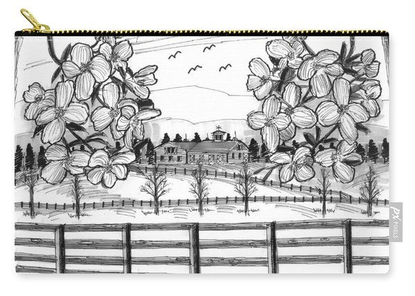 Hudson Valley Apple Blossoms Carry-all Pouch