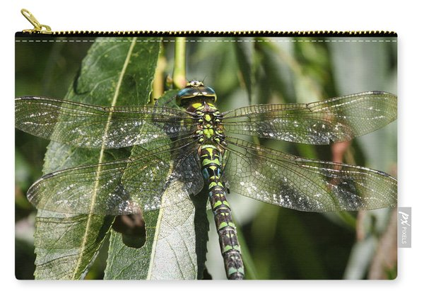 Huge Dragon-fly In Detail. Carry-all Pouch