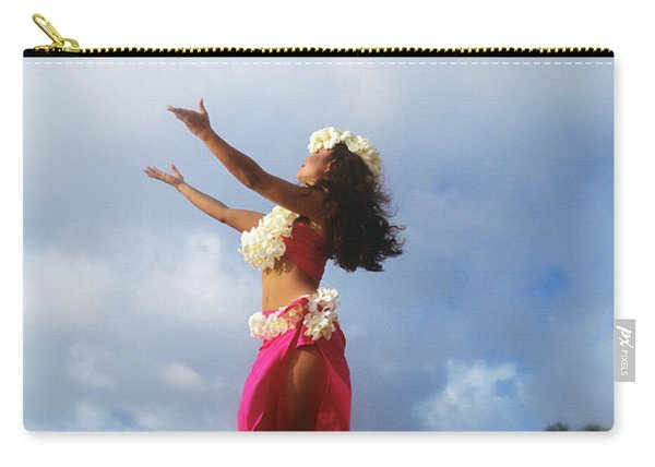 Hula Dancer Hawaii Carry-all Pouch