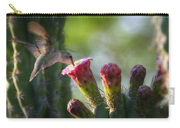 Hummingbird Breakfast Southwest Style  Carry-all Pouch