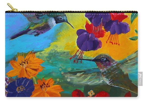 Hummingbirds Prayer Warriors Carry-all Pouch