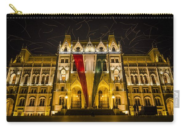 Hungarian Parliament At Night Carry-all Pouch