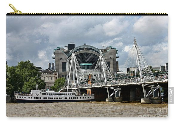 Hungerford Bridge And Charing Cross Carry-all Pouch