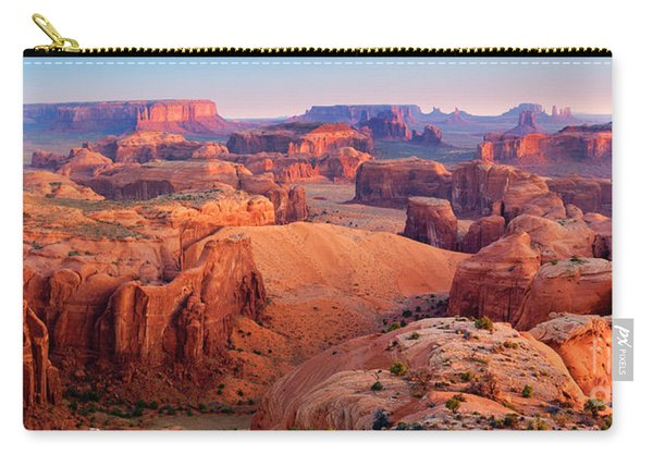 Hunts Mesa Panorama Carry-all Pouch
