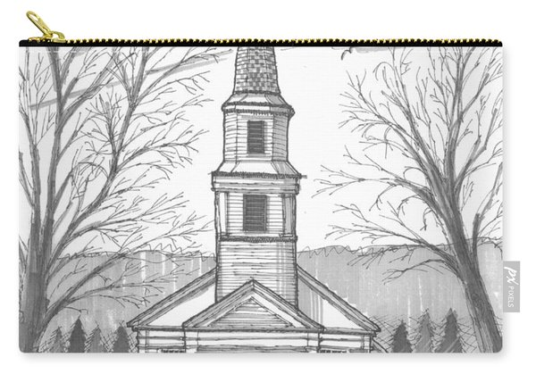 Hurley Reformed Church Carry-all Pouch