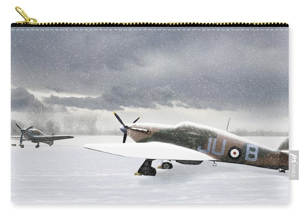 Hurricanes In The Snow Carry-all Pouch