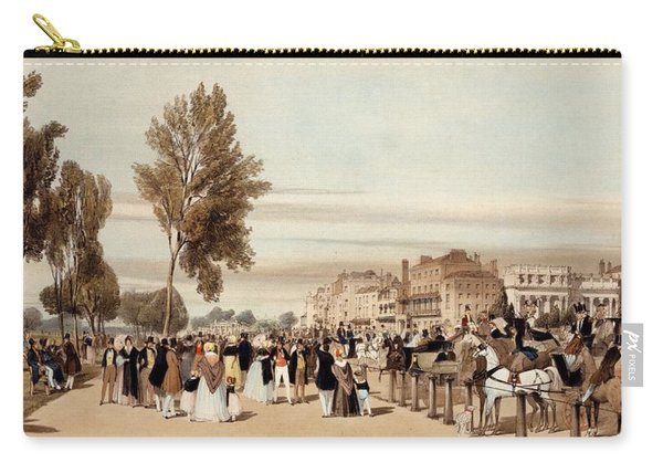 Hyde Park, Towards The Grosvenor Gate Carry-all Pouch