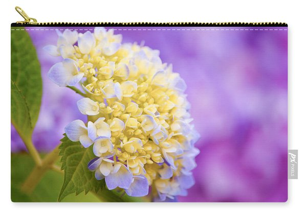 Hydrangea On Purple Carry-all Pouch