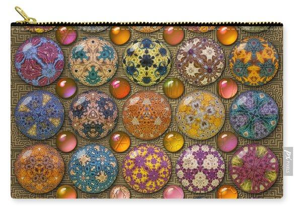Hyperbolicrochet Kaleidoscope Quilt Carry-all Pouch