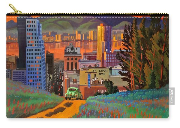 I Love New York City Jazz Carry-all Pouch