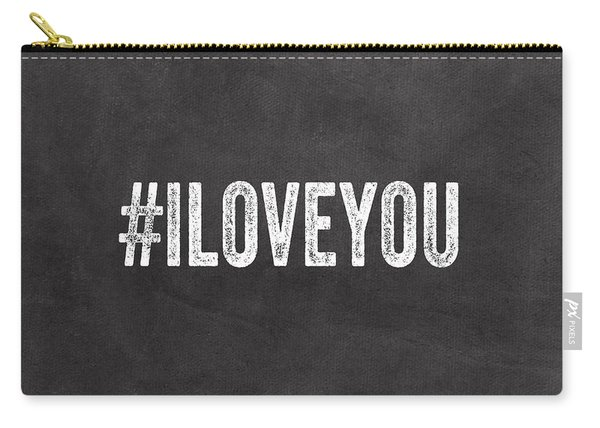 I Love You - Greeting Card Carry-all Pouch